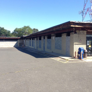 Roof raise before photo - New Grocery Store, Sayreville NJ